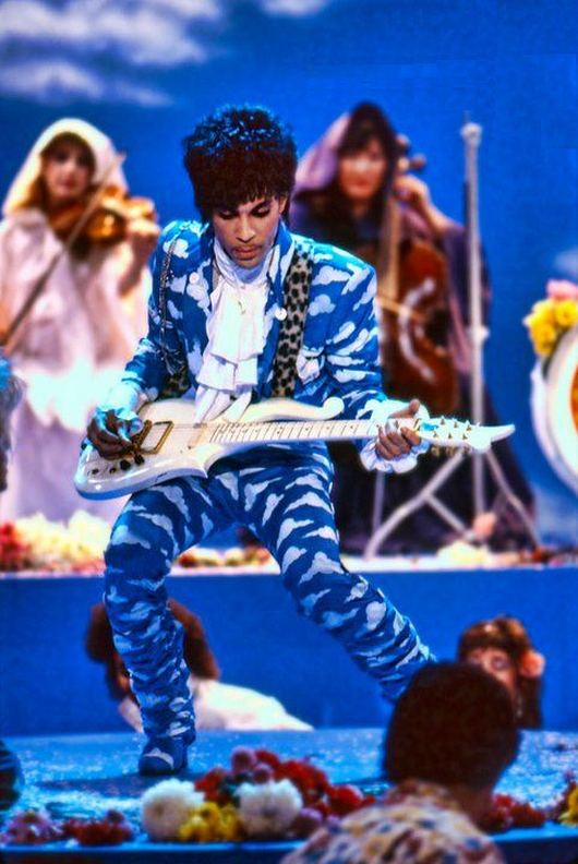PRINCE AROUND THE WORLD IN A DAY ERA